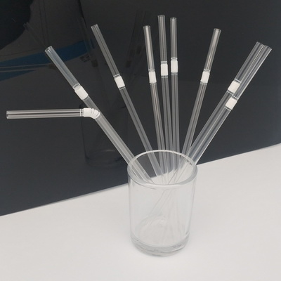 Flexible 5-170-182mm transparent 100% Compostable Biodegradable FDA Certified ECO Friendly Drinking PLA Straw