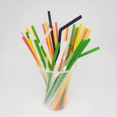 Flexible 6*200mm 100% Compostable Biodegradable FDA Certified ECO Friendly Drinking PLA Straw   - 副本 - 副本