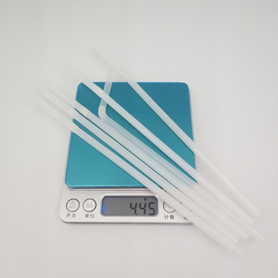 Flexible 6*200mm 100% Compostable Biodegradable FDA Certified ECO Friendly Drinking PLA Straw